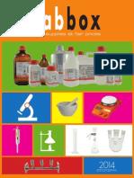 Catálogo Labbox
