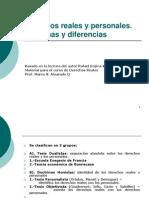 Derechos Reales-Derechos Reales y Personales.doctrinas y Diferencias-rojina