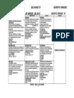 Planeacion Semana Del 18 Al 21 de Marzo de 2014 Quinto Grado