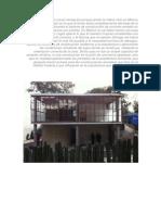 La casa que construí causó sensación porque jamás se había visto en México una construcción en la que la forma fuera completamente derivada de la función utilitaria