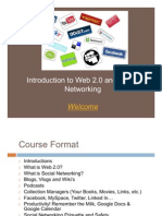 Web 2.0 and Social Networking