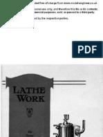 Drumm Lathe Work