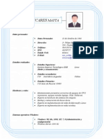 CV WILDER LICARES M.