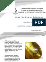 Carga Electrica y Ley de Coulumb