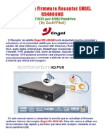 Engel Manual Act Firm ENGEL RS4800HD Por USB