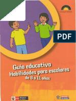 Habilidades escolares de 8 a 11 años
