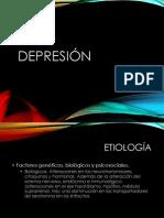 Etiología depresión