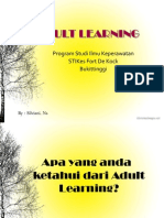 Adult Learning Sil