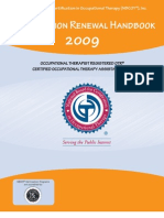 FORM Certification Renewal Handbook 2009