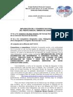 Impugnacion Del II Congreso Fsoc