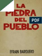Barquero La Piedra Del Pueblo
