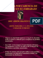 Anemia Del Embarazo 2007