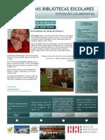 Cartaz patrono Centro de Recursos Poeta José Fanha