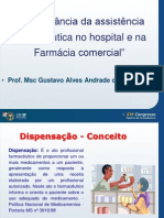 Papel Do Farmaceutico Gustavo Alves Andrade CRF