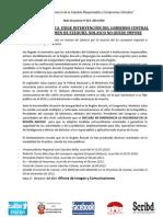 CONGRESISTA JULCA  EXIGE INTERVENCIÓN DEL GOBIERNO CENTRAL PARA QUE CRIMEN DE EZEQUIEL NOLASCO NO QUEDE IMPUNE