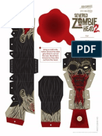 Severed Zombie Head 2
