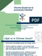 El Informe Social en La Intervencion Familiar