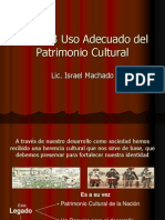 023 Uso Adecuado Del Patrimonio Cultural