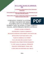 Como e Onde Baixar Download o Livro Talmud de Jmmanuel