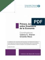 Forcinito Karina Enseñanza de la economía