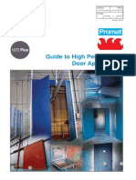 Promat Durasteel Guide to High Performance Doors