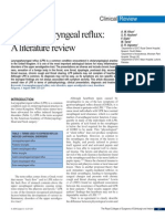 19Laryngopharyngeal Reflux, A Literature Review