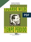 Tiempo Perdido. Eduardo Wilde