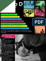 studio d - manifesto