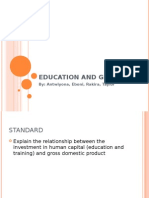 Education and GDP
