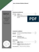 Curriculum Vitae Modelo3a Granate