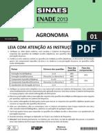 Prova Enade Agronomia