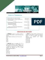Lista de Exercícios - Conceitos Fundamentais - Química (Prof. PC - PEQ)