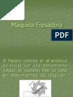 Fresadora Ing RMFP. Clase.