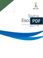 Catalogo Textos Escolares 2014