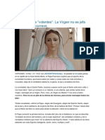 La Virgen No Es Jefa de Oficina de Correos