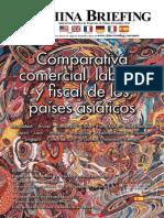 Comparativa comerical laboral y fiscal de los paises asiaticos