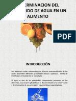 Exposición final del laboratorio ciencias de los alimentos I