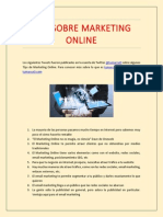 Tips Sobre Marketing Online