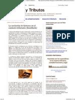 La anulación de facturas en el contexto tributario (Reeditado)