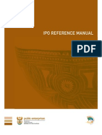 IPO reference manual for the South African Stock Market (JSE)