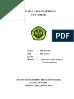 Laporan Praktikum Multimedia - Modul I