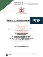 Proyecto Codigo Electoral