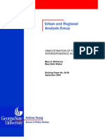 GMM ESTIMATION OF FISCAL POLICY INTERDEPENDENCE ACROSS STATES