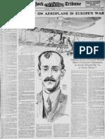 Orville Wright Aeroplane (1915)