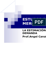 TECNICAS DE ESTIMACIÒN