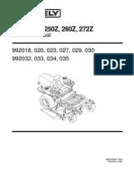 Promaster 250Z, 260Z, 272Z