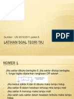 Latihan Soal Teori TKJ 2010 2011