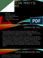 Química del Yeso y el Polímero