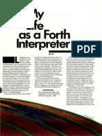 My Life as a Fourth Interpreter