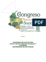 Propuesta Comercial Xi Congreso Nacional Sociologc3ada1
